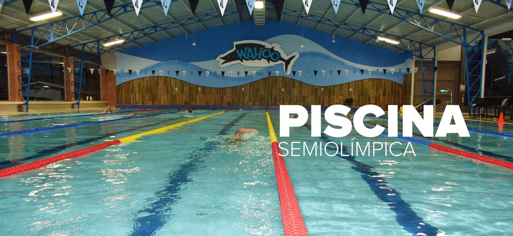 Banner Wahoo - Piscina semiolímpica